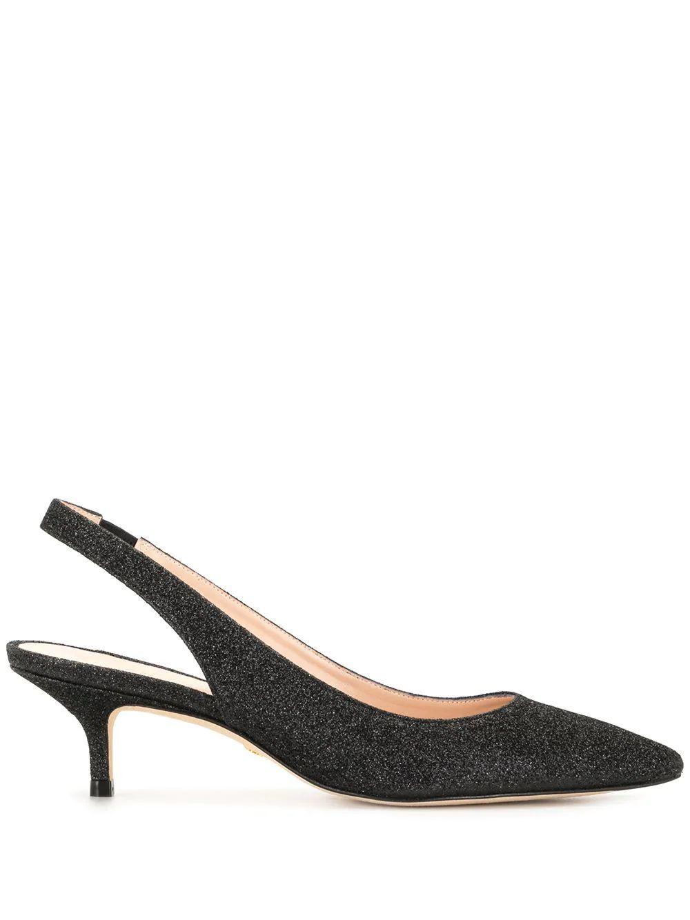 Estela 50 Glitter Slingback Heels