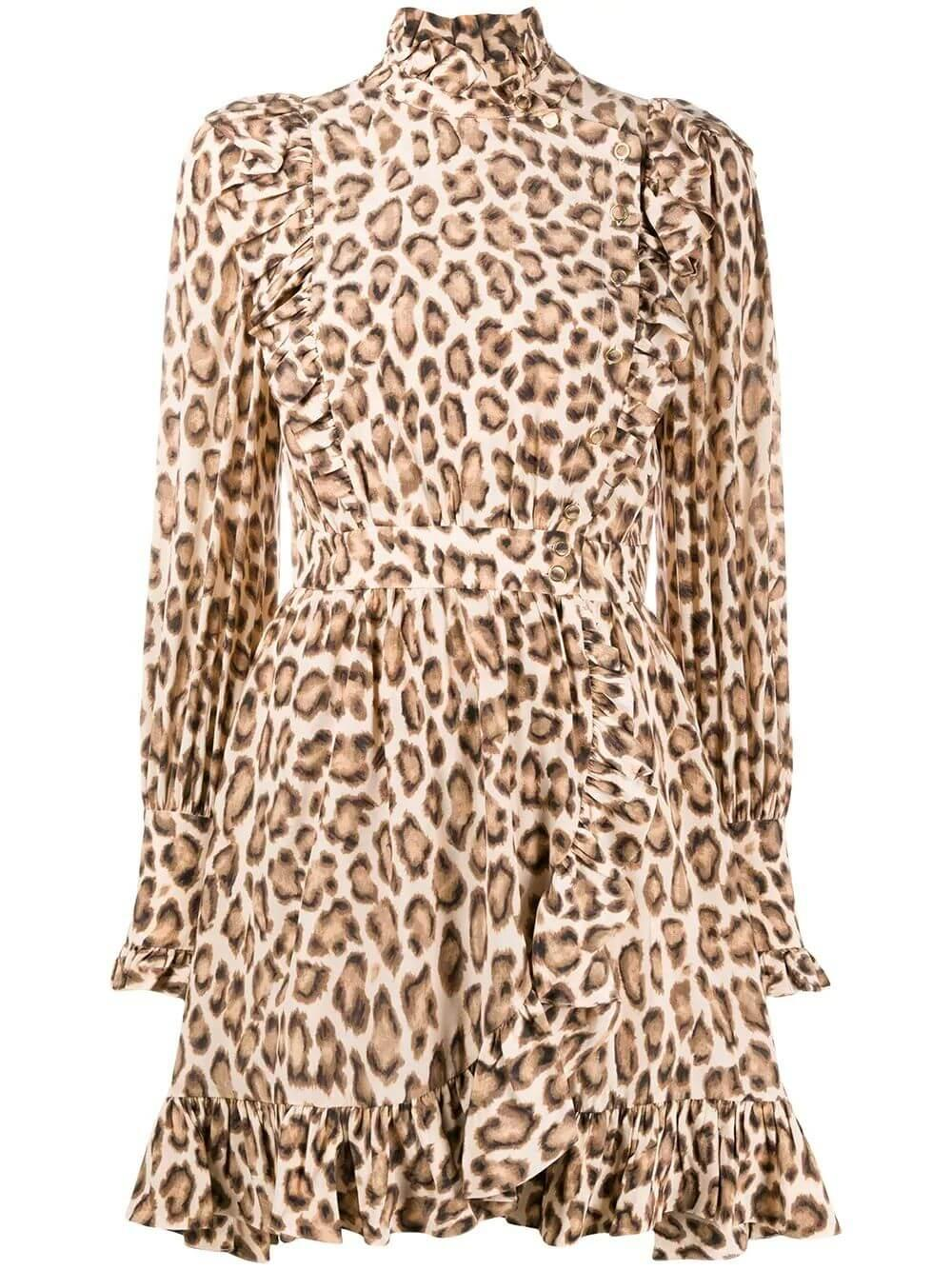Lucky Leopard Print Dress