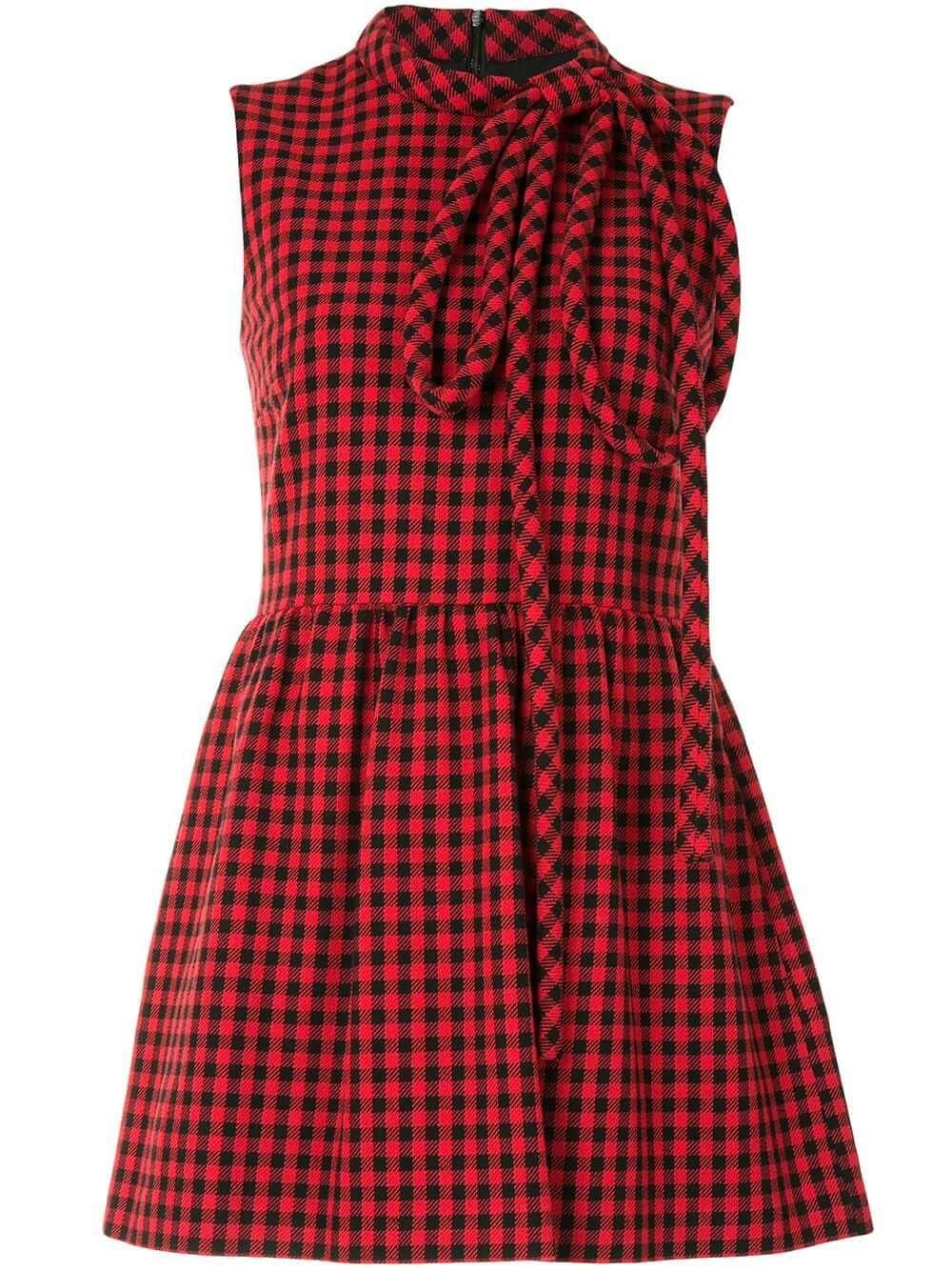 Plaid Mini Dress Item # UR3VEA9055V