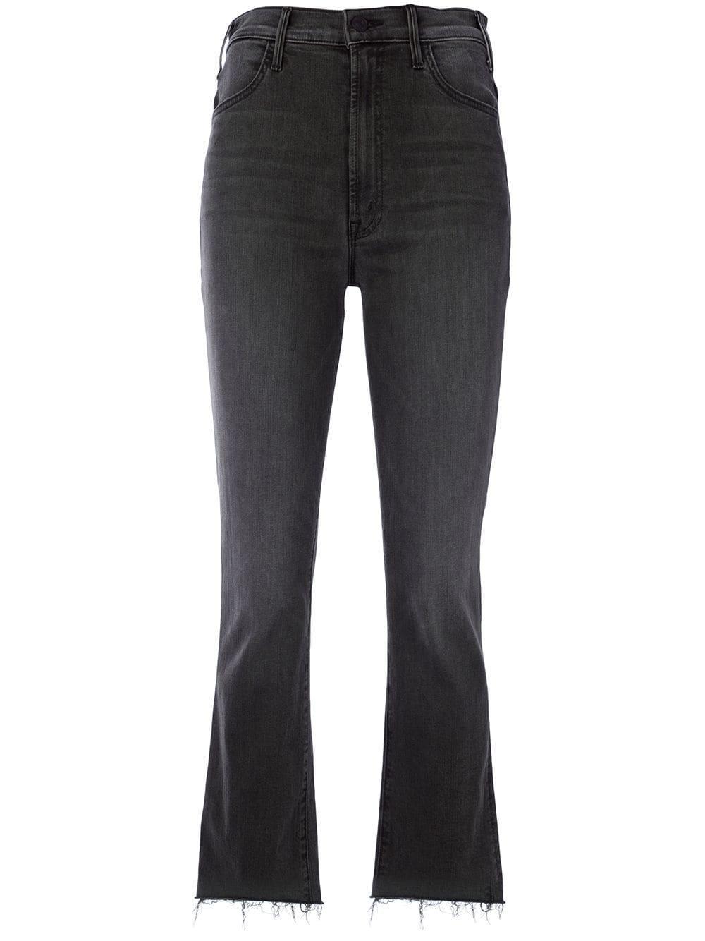 Hustler Ankle Fray Jeans Item # 1117-1800