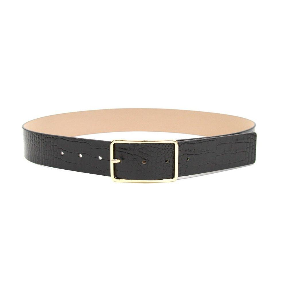 Milla Croco Belt Item # BT1640-710LE-B