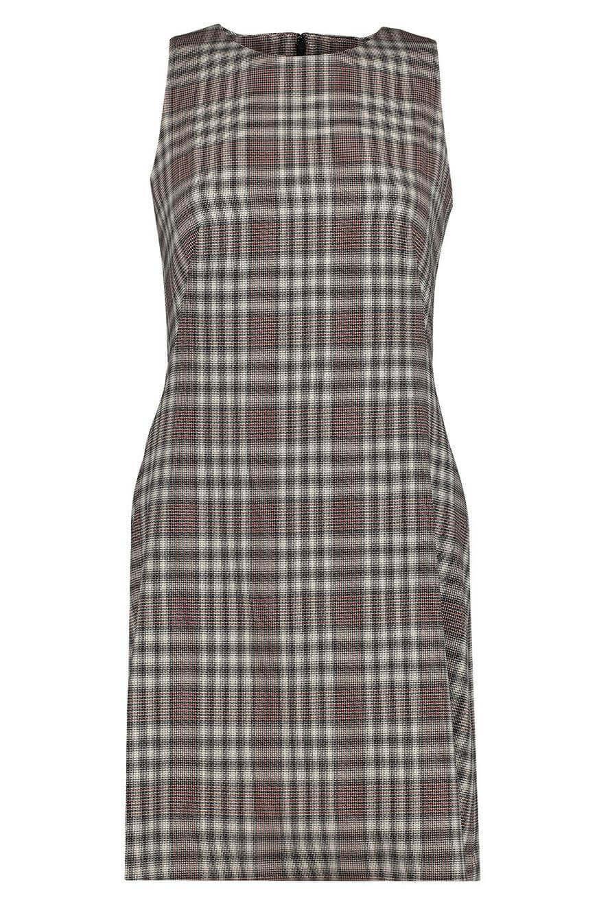Plaid Angled Dress Item # K0601608
