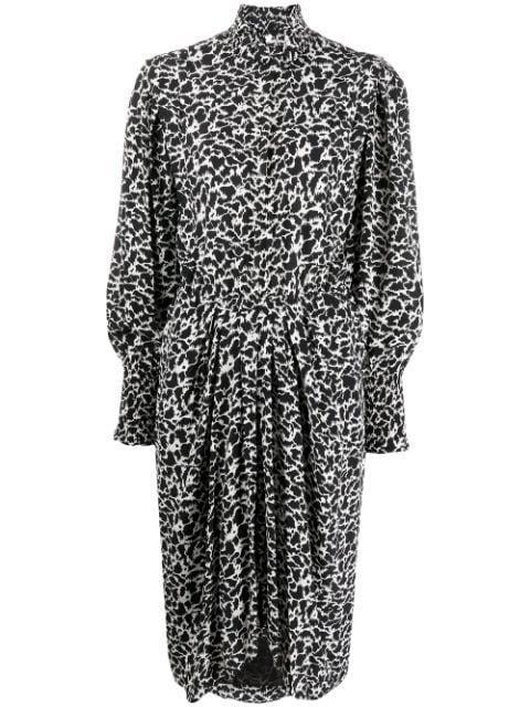 Siloe Printed Dress Item # RO1765-20A044E