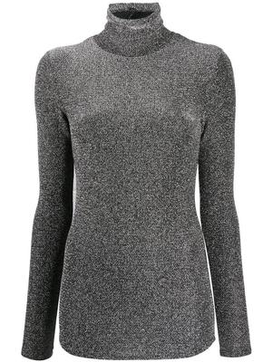 Woyela Lurex Turtleneck