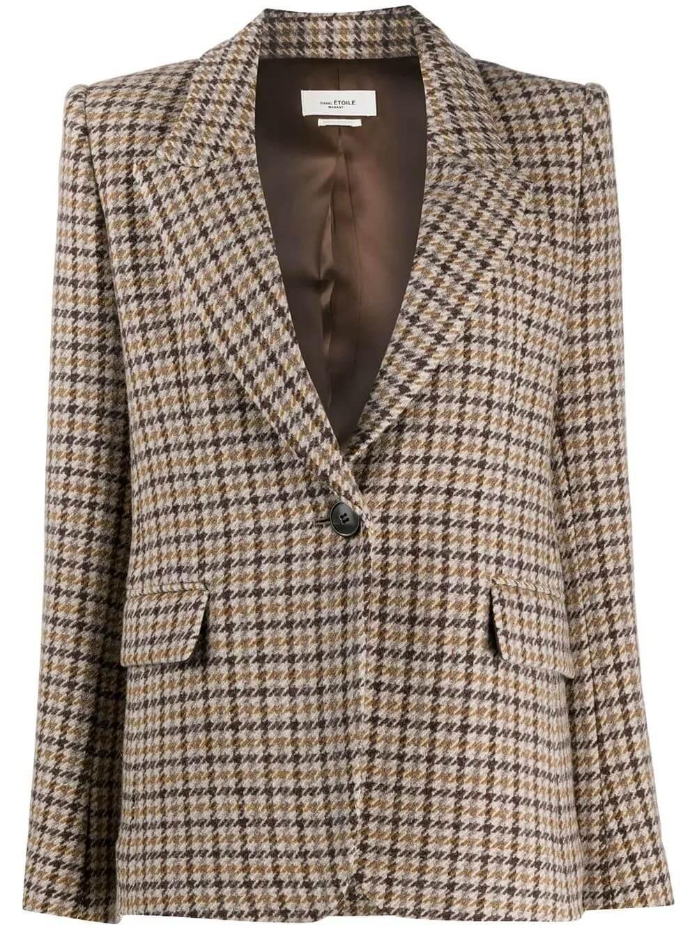 Kerstin Houndstooth Jacket Item # 20AVE1359-20A025E