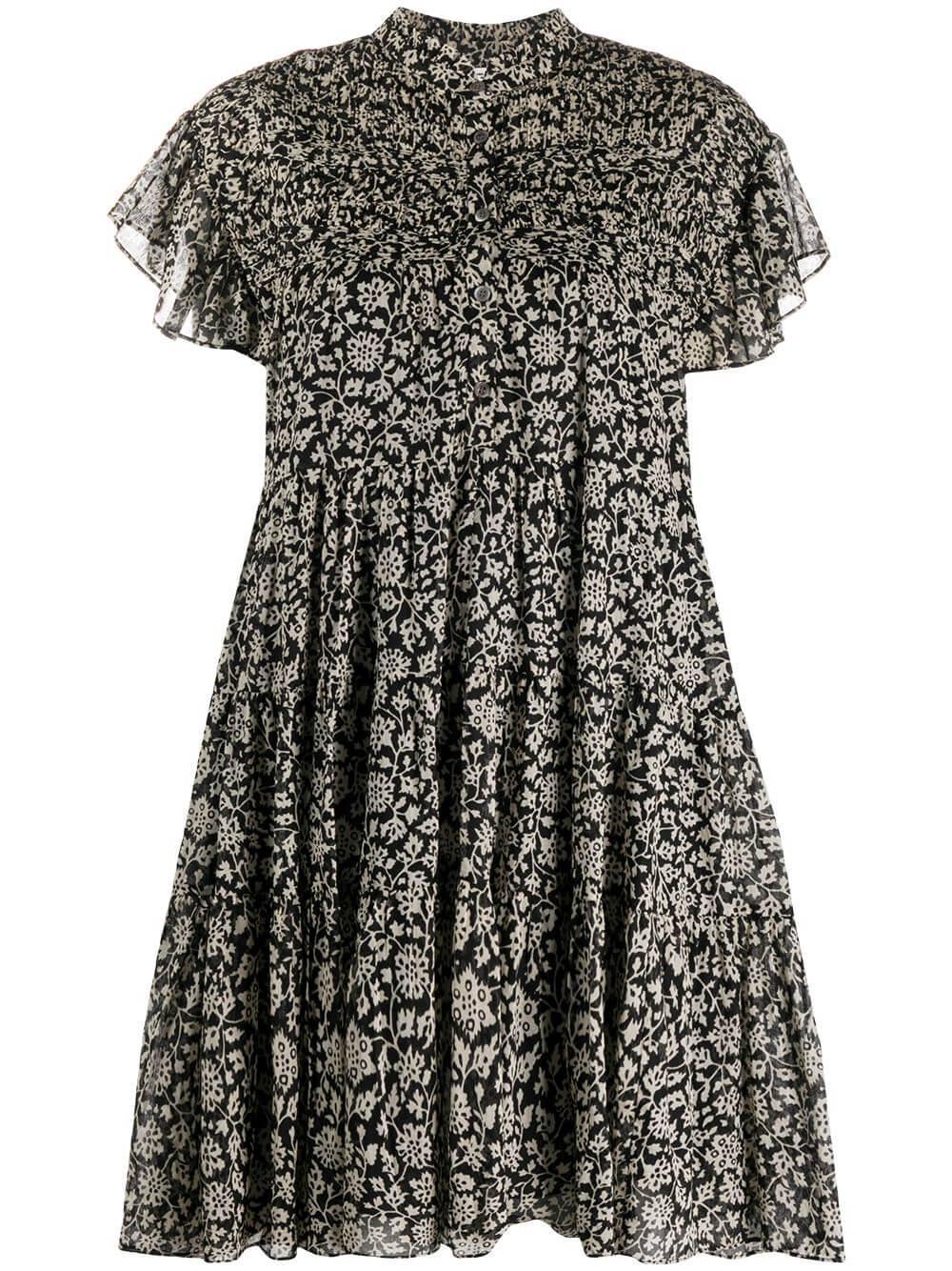 Lanikaye Printed Cotton Voile Dress