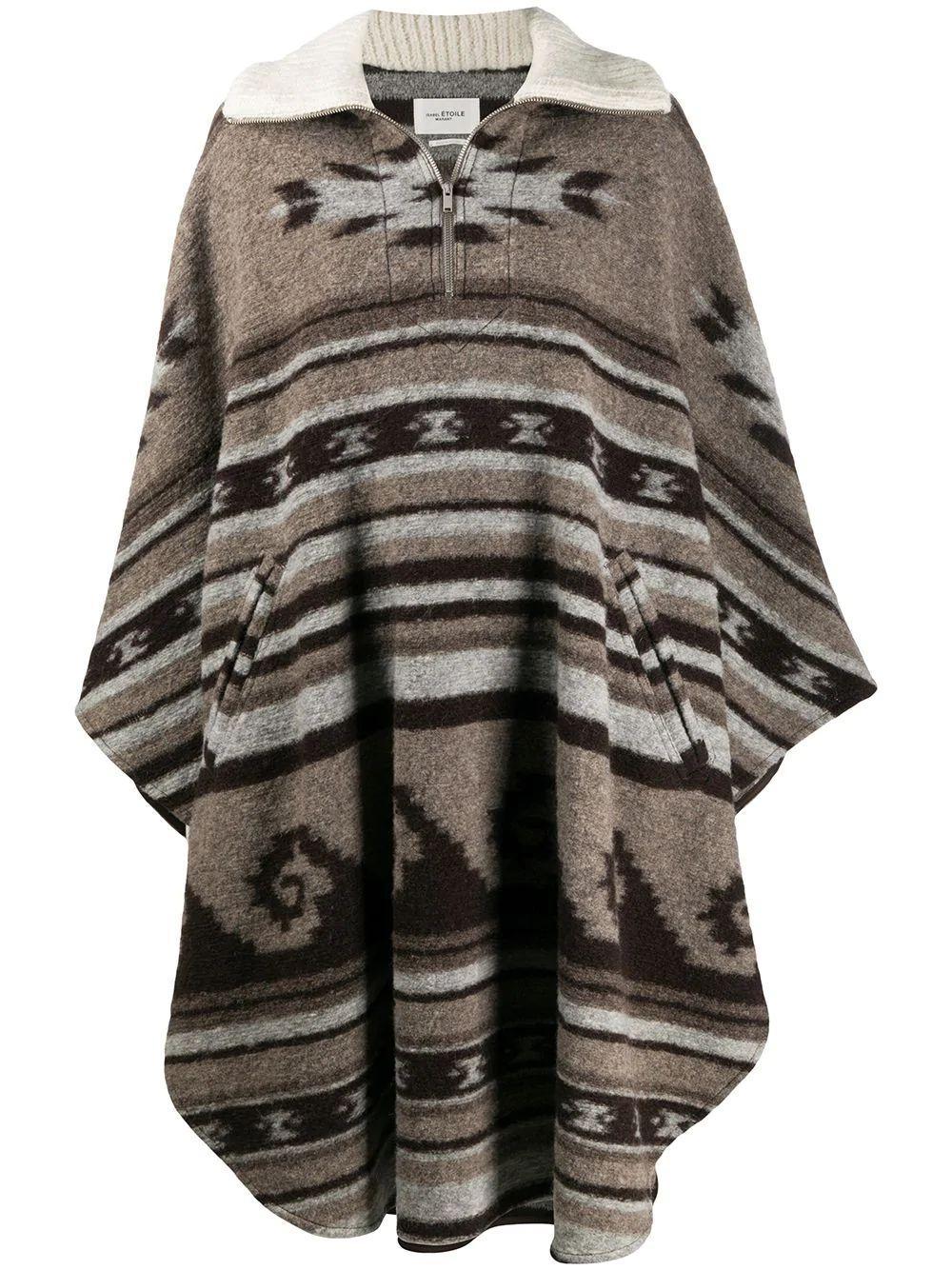 Gabin Navajo Blanket Coat Item # KP0035-20A064E