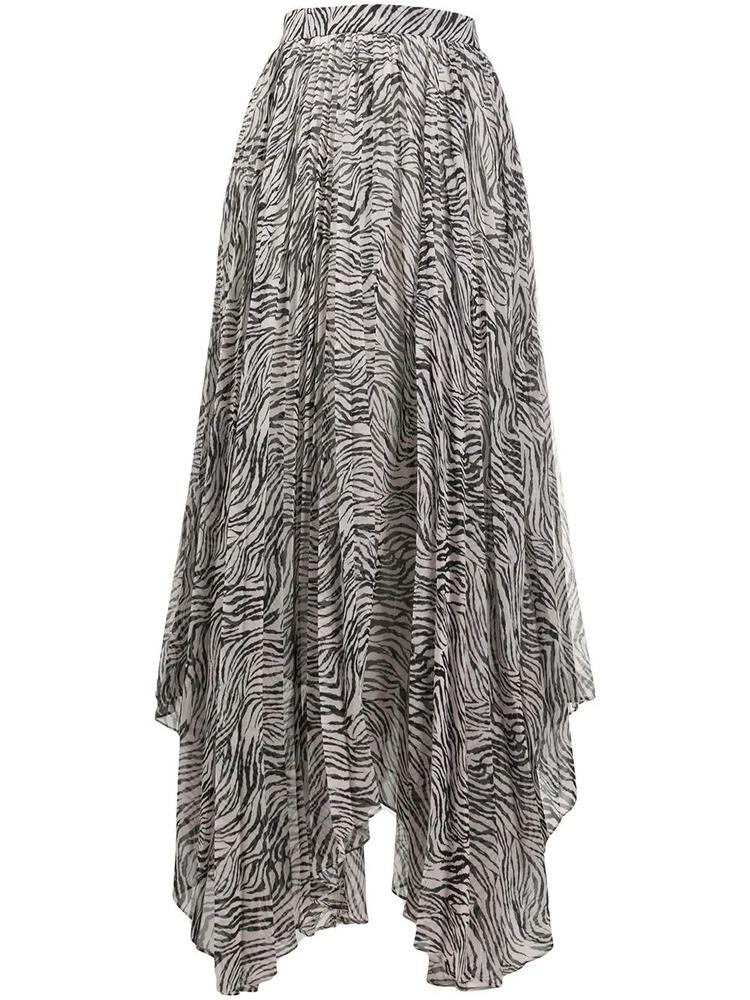 Alena Printed Pleated Skirt Item # ALENA