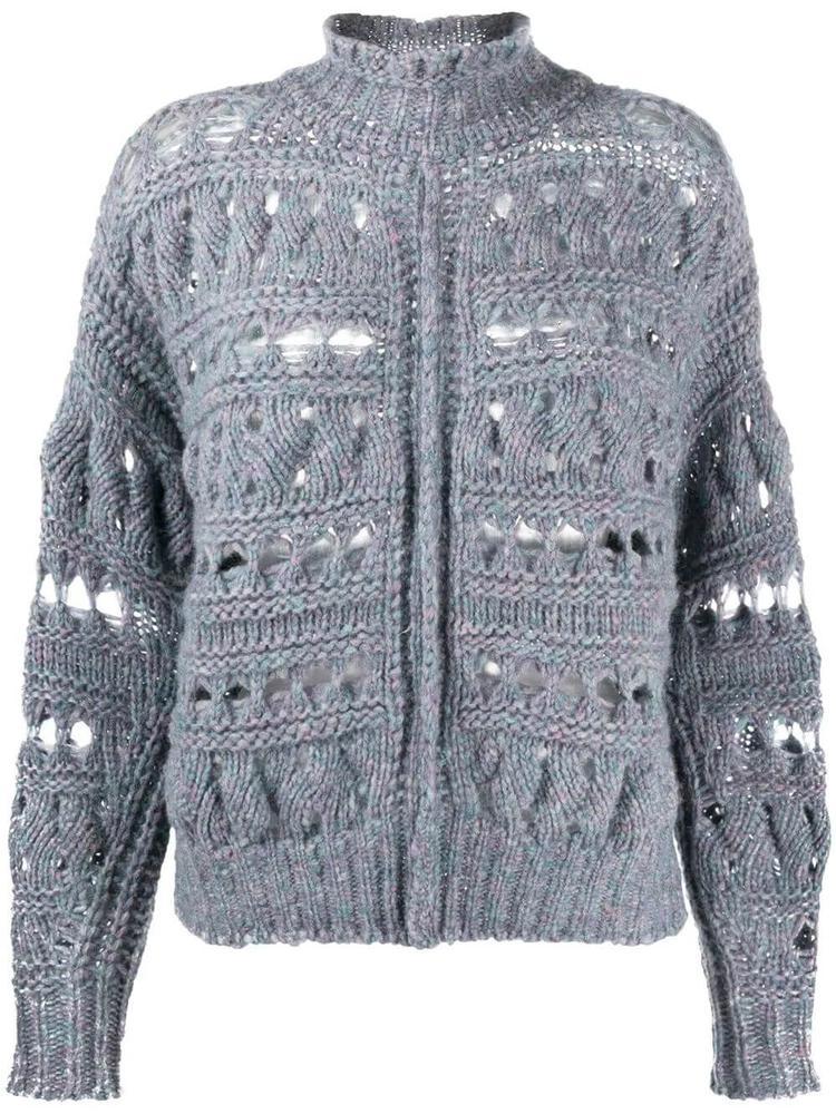 Zoe Alpaca Sweater Item # ZOE