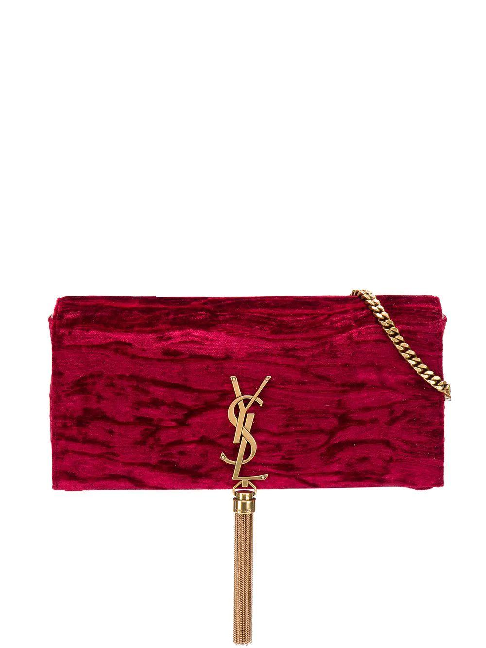 Kate Crushed Velvet Clutch