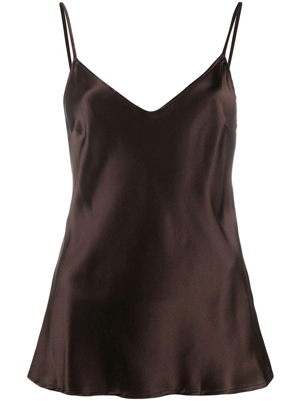 Deira Silk Slip Top Item # Q02T156-H20