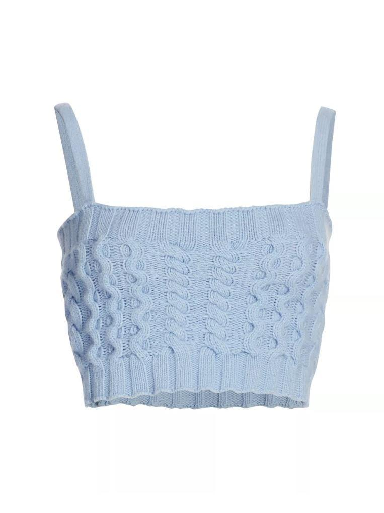 Knitted Bra Top Item # 2010-WVWS