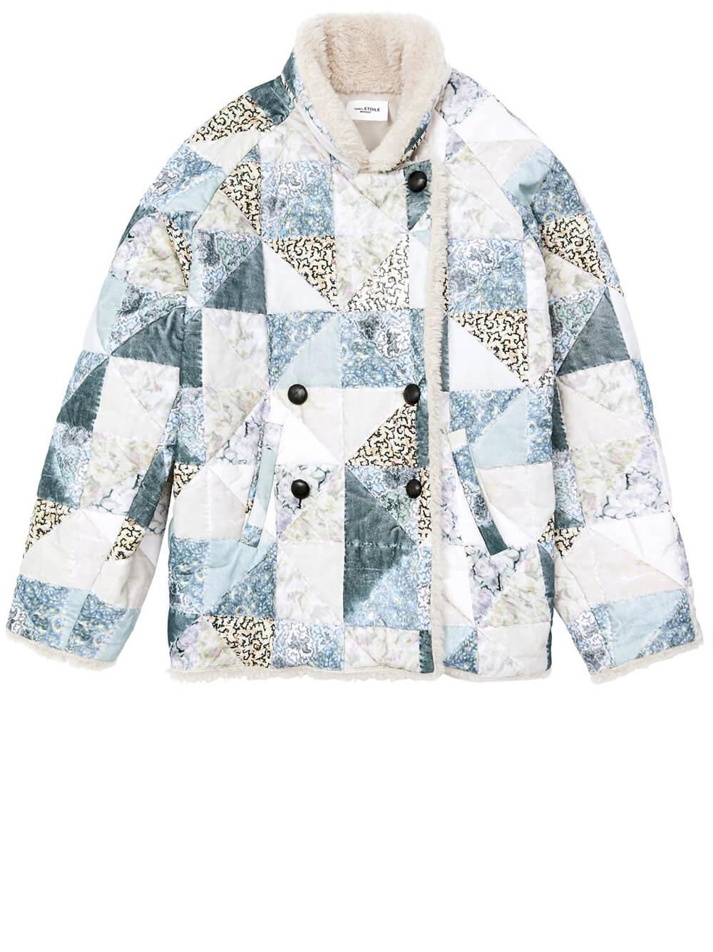 Maceio Patchwork Jacket Item # 20AMA0765-20A019E