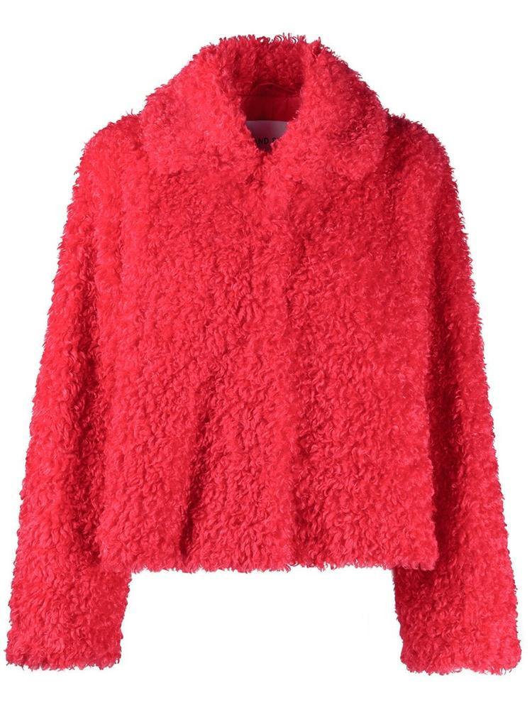 Marcella Faux Fur Shaved Short Jacket Item # 61060-9160