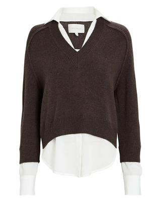 Alum V-Neck Layered Looker Sweater