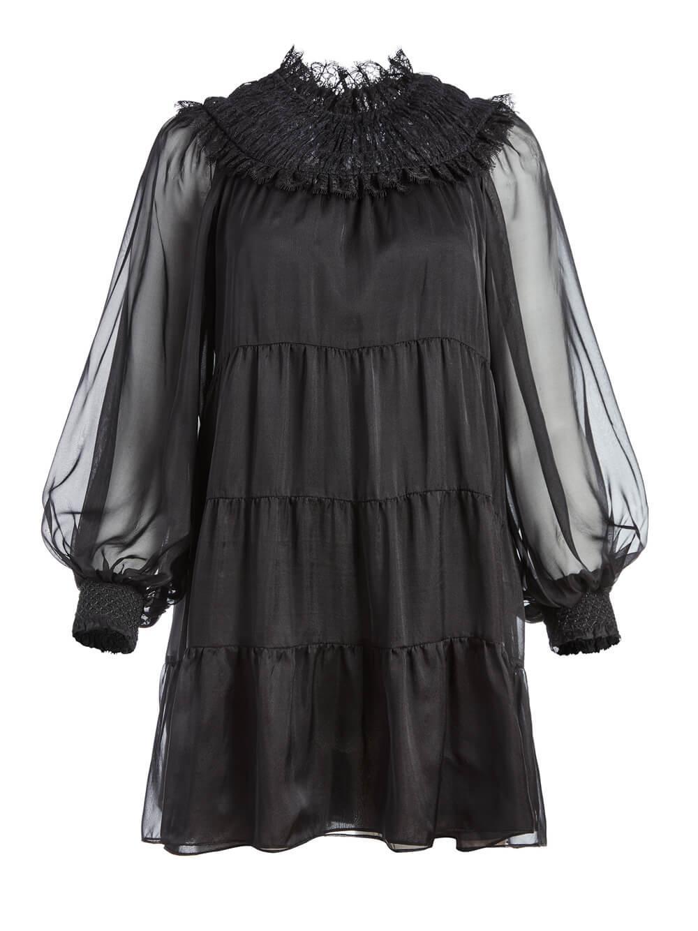 Kellyann Smocked Babydoll Dress