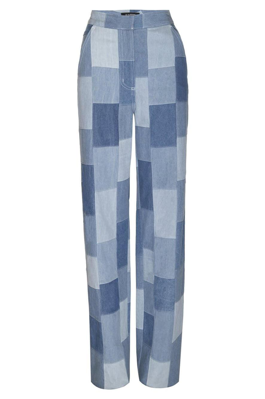 Freds Patchwork Denim Pant Item # FW20-797