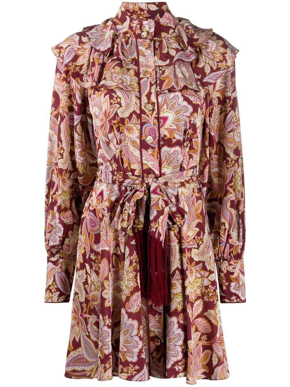 Fringe Detail Dress Item # 8949DCHA