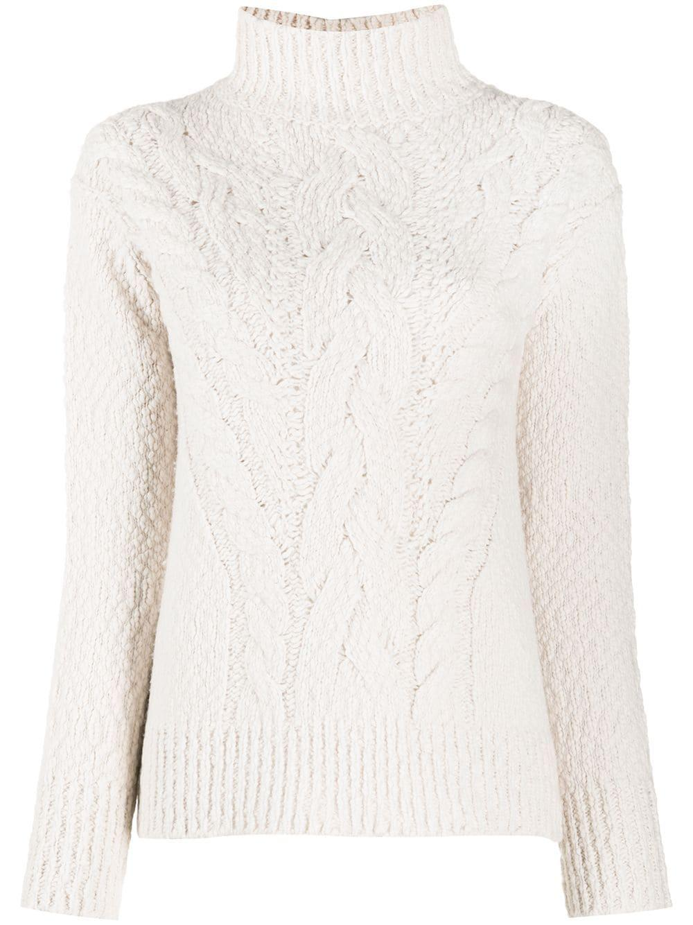 Rising Cable Turtleneck