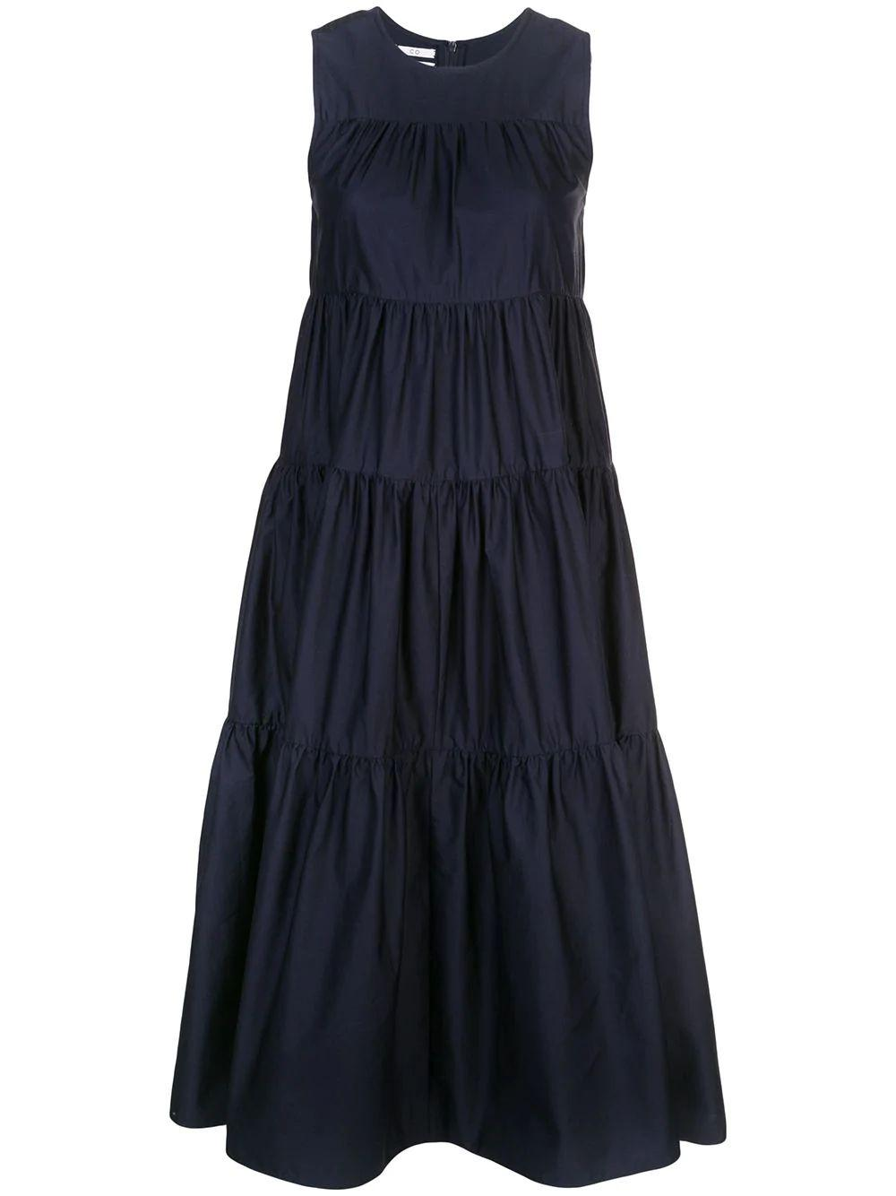 Sleeveless Tiered Dress Item # 4370STN-ESSN