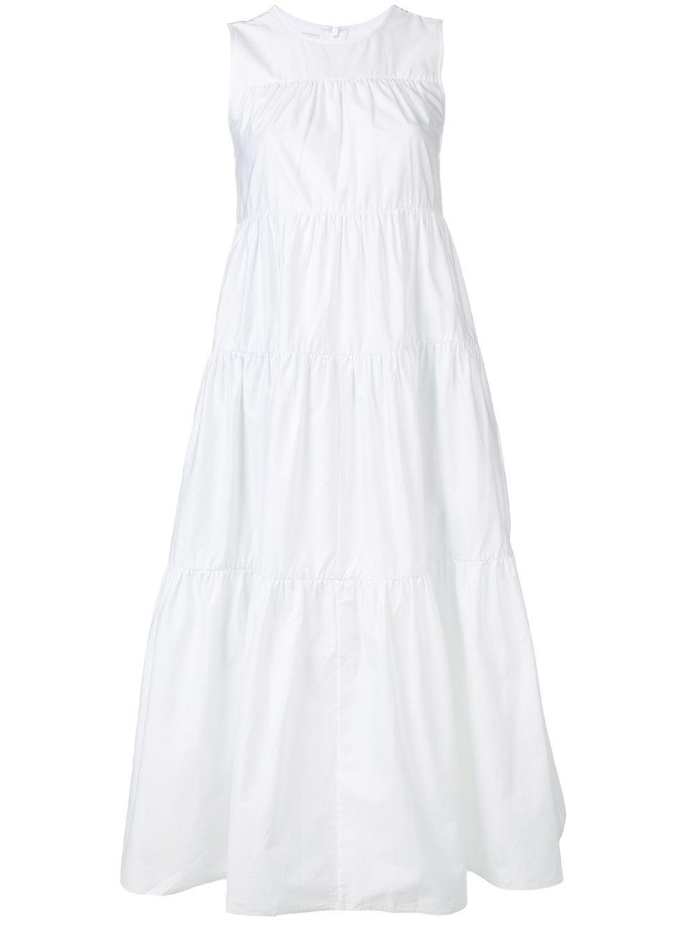Sleeveless Tiered Dress