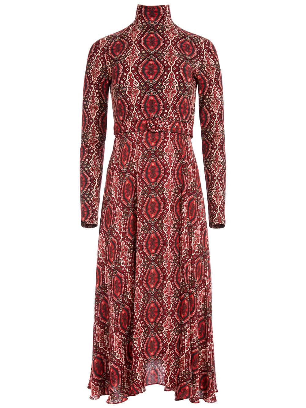 Clare Turtleneck Dress Item # CC009P55507