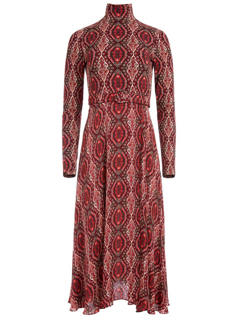 Clare Turtleneck Dress