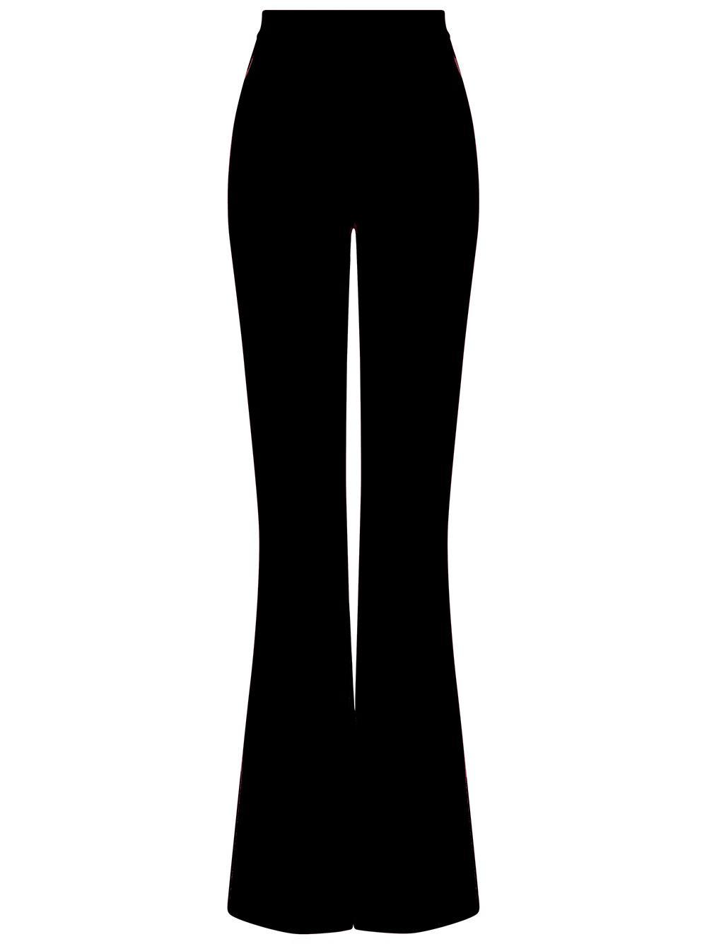 Halluana Side Zip Trouser Item # P39-1-PF20