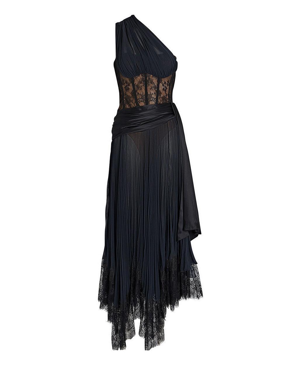Maude Lingerie Lace Midi Dress Item # 520-1035-E