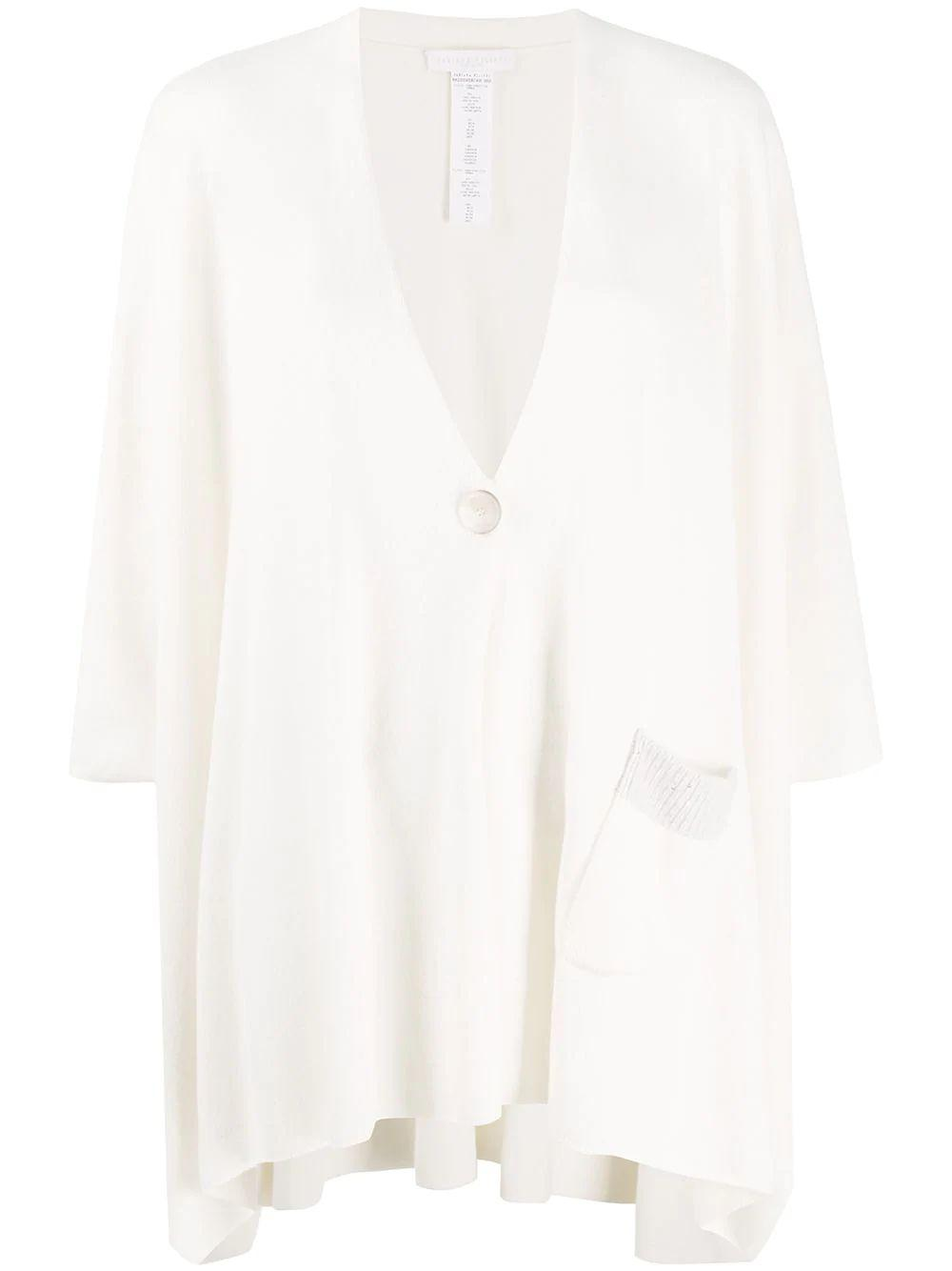 Button With Front Pocket Poncho