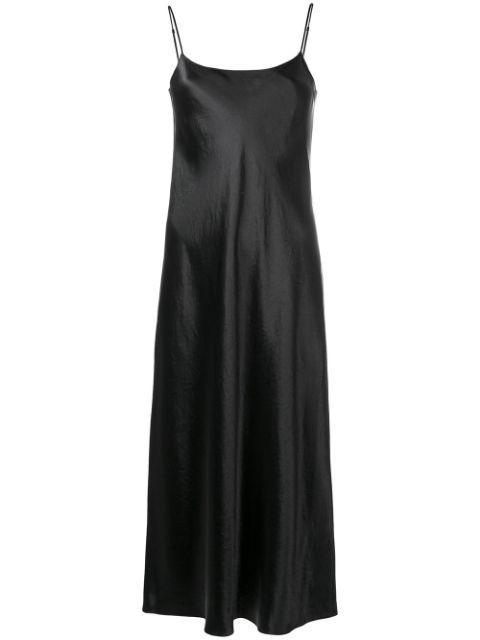 Satin Slip Dress Item # VR68551013