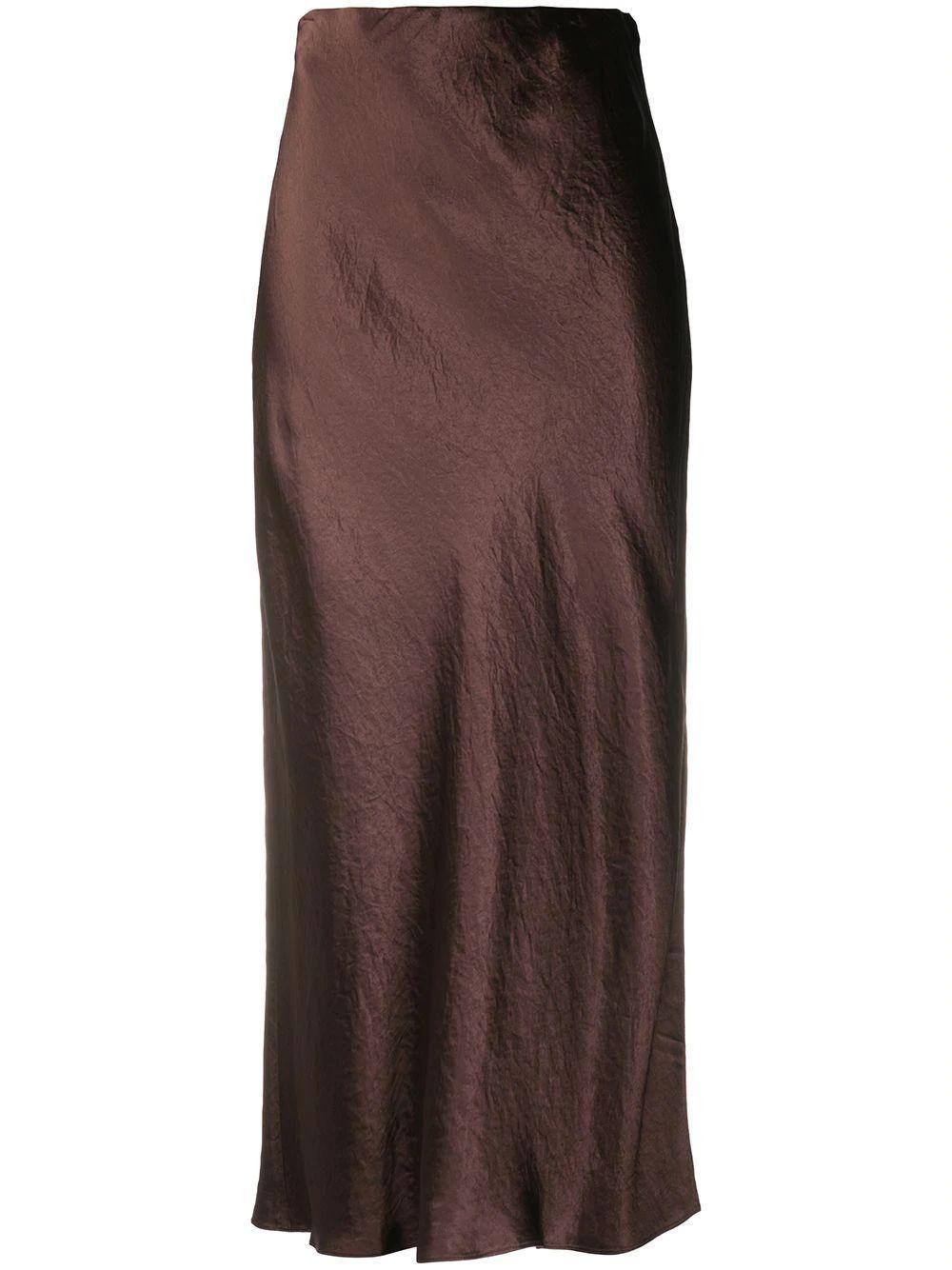 Side Slit Slip Skirt Item # V693930625
