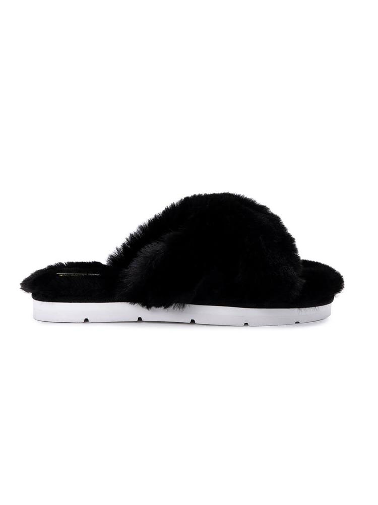 Pillar Faux Fur Slipper Item # PILLAR