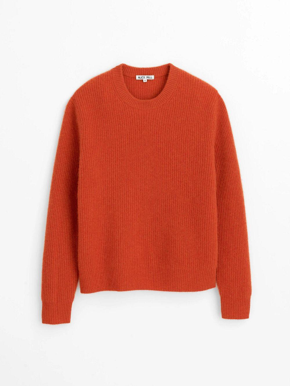 Jordan Sweater In Washed Cashmere Item # 208-MW018-1380