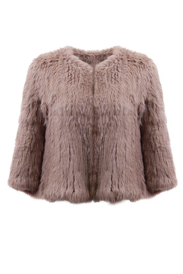 Cropped Capelet
