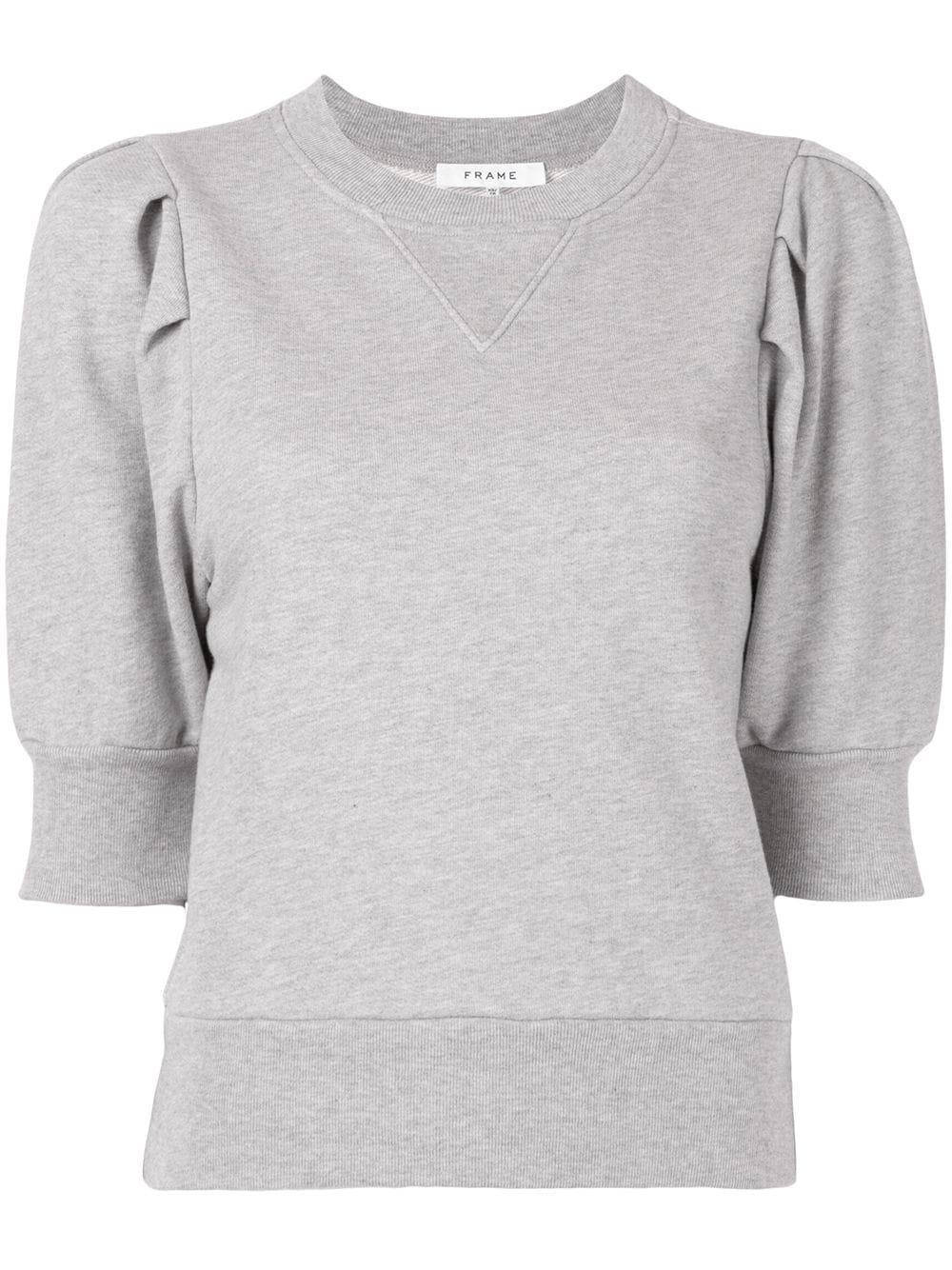 Puff Sleeve Sweatshirt Item # LWAC0342