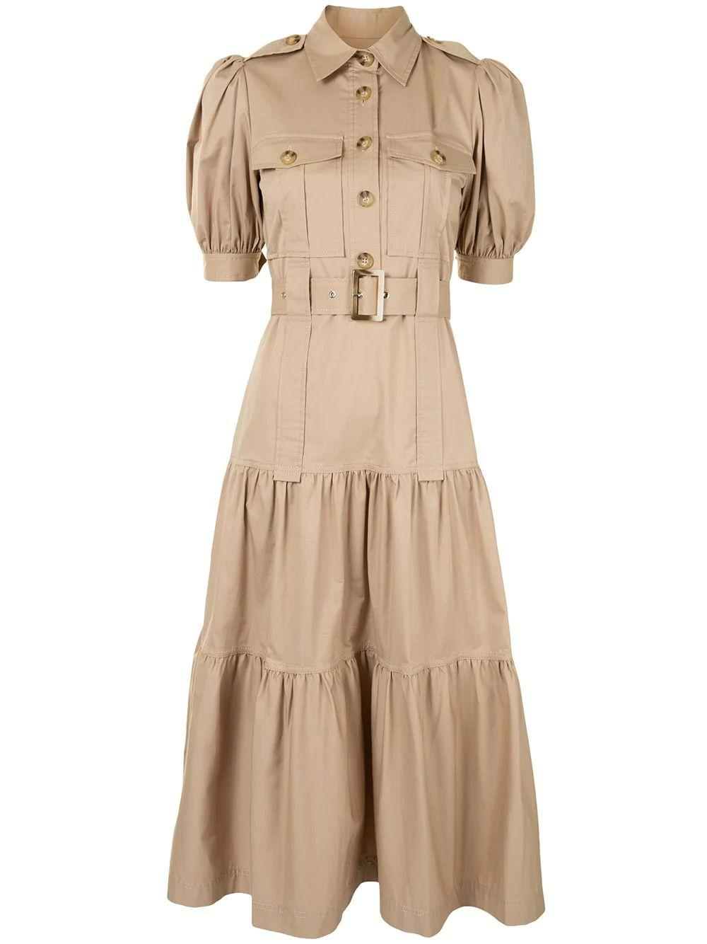 Buffy Utility Midi Dress