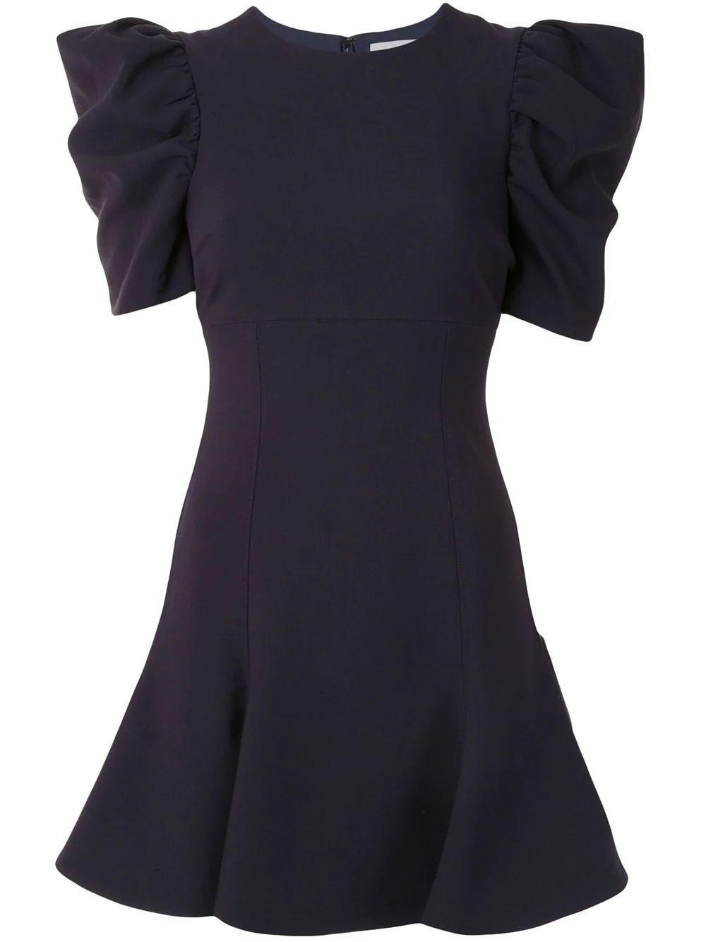 Alia Puff Sleeve Dress Item # YD1077001LYB-F20