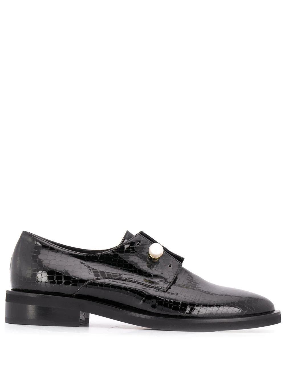 Ginevra Patent Loafer Item # CL2234