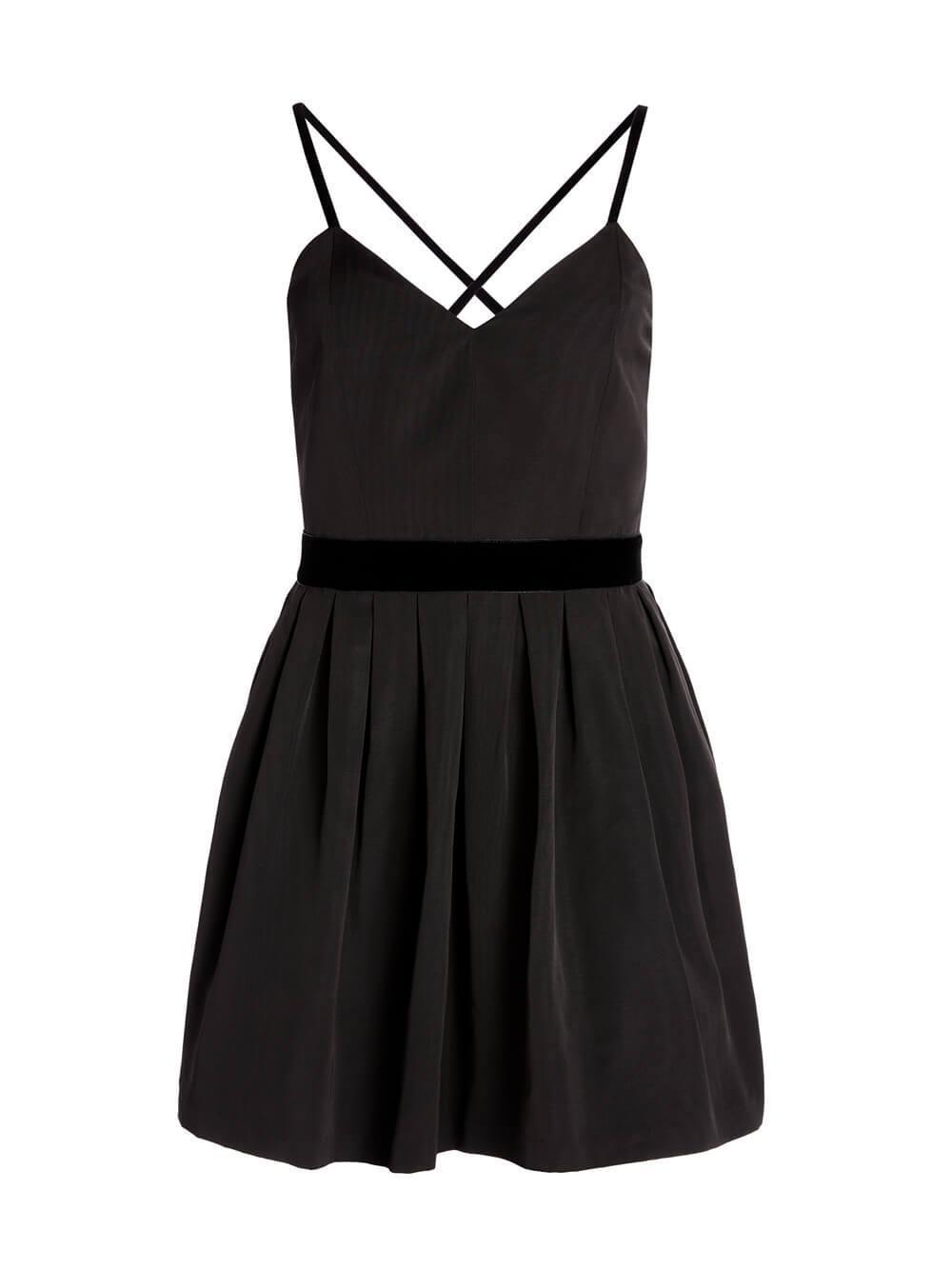 Madison Pleated Mini Dress Item # CC009Q46524
