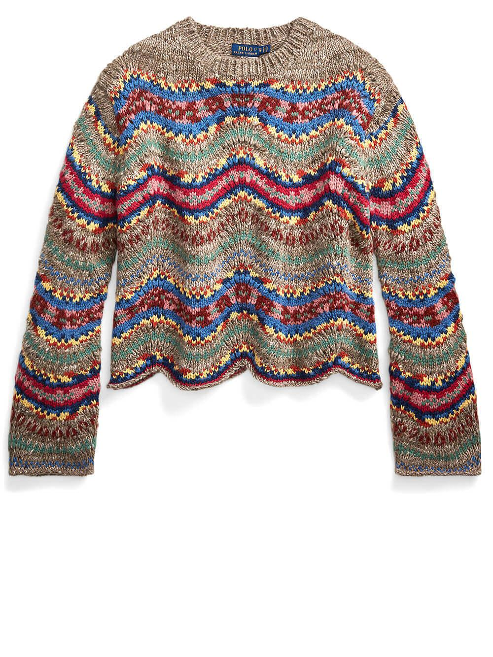 Fair Isle Sweater Item # 211815134001