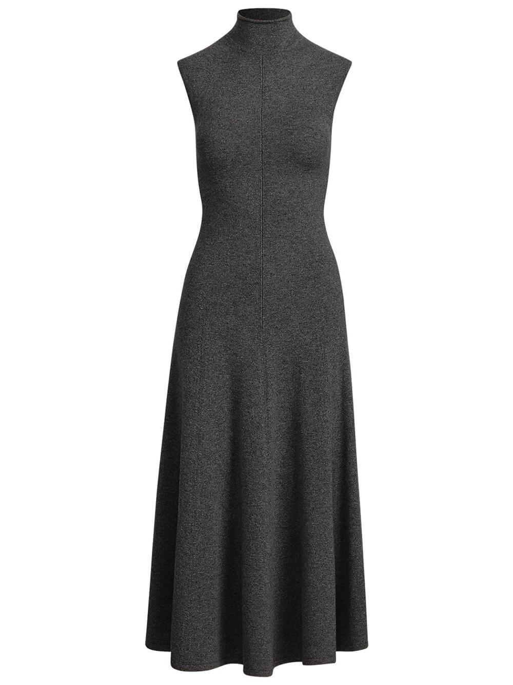 Sleeveless Cashmere Dress Item # 211764250005