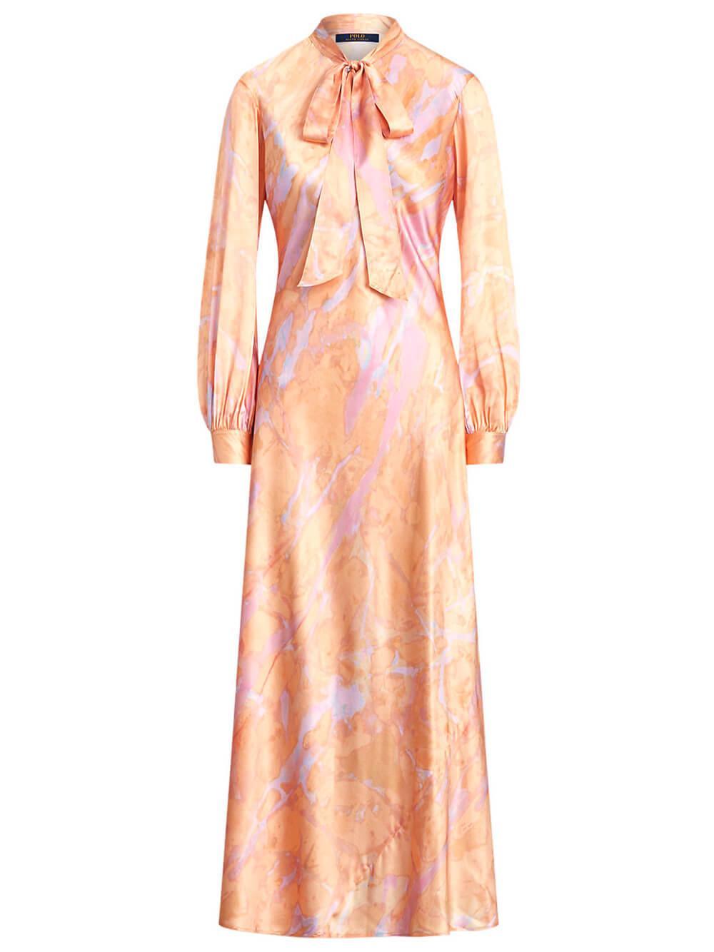 Rily Tie Dye Maxi Dress Item # 211800615001