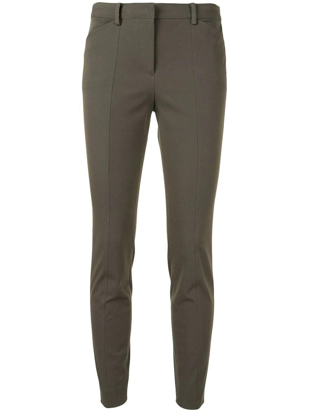 Twill Front Seam Trouser Item # K0704206