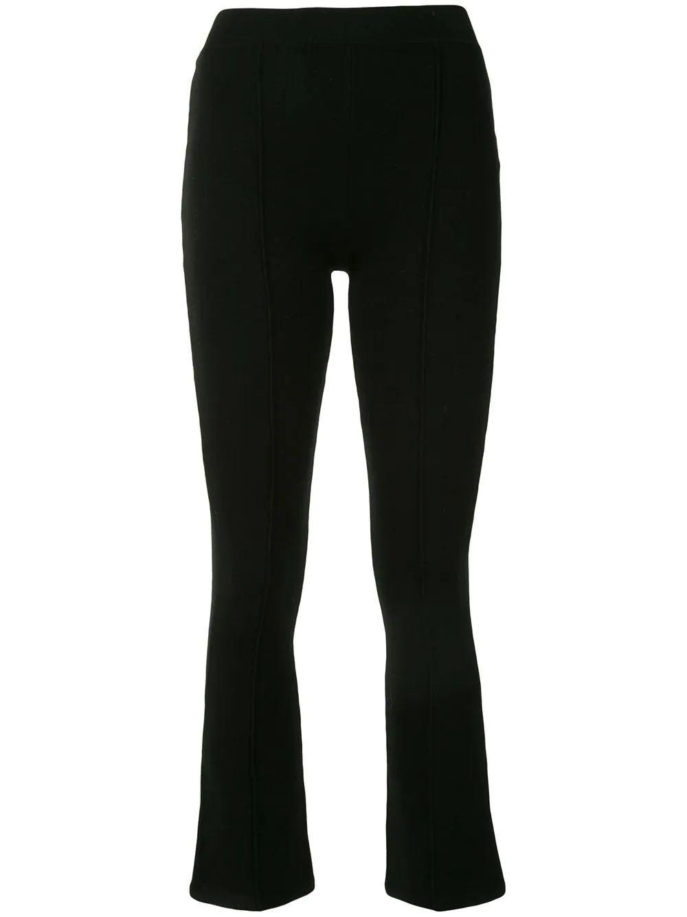 Brianna Compact Knit Cropped Pant Item # 520-4000-K
