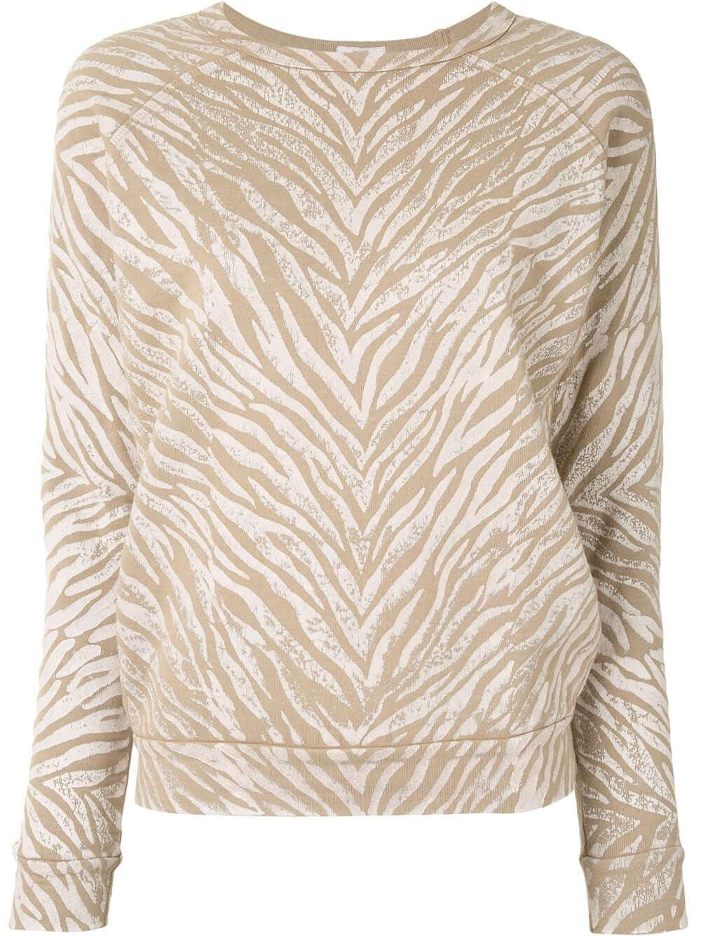 The Hugger Striped Sweatshirt Item # 8172-792-WSR