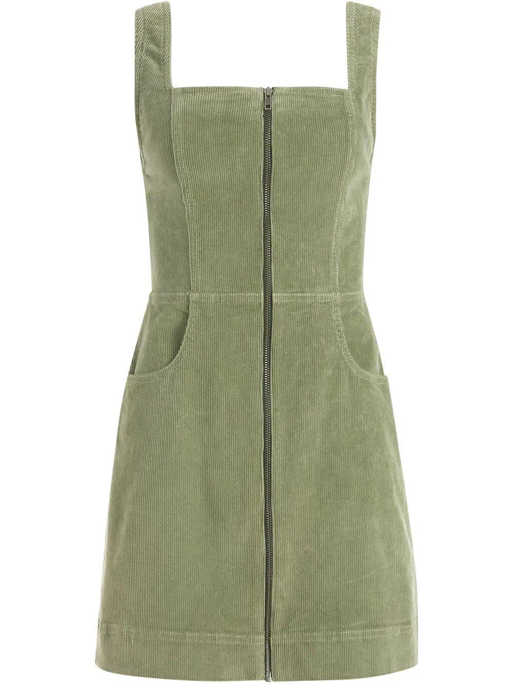 Renita Corduroy Mini Dress