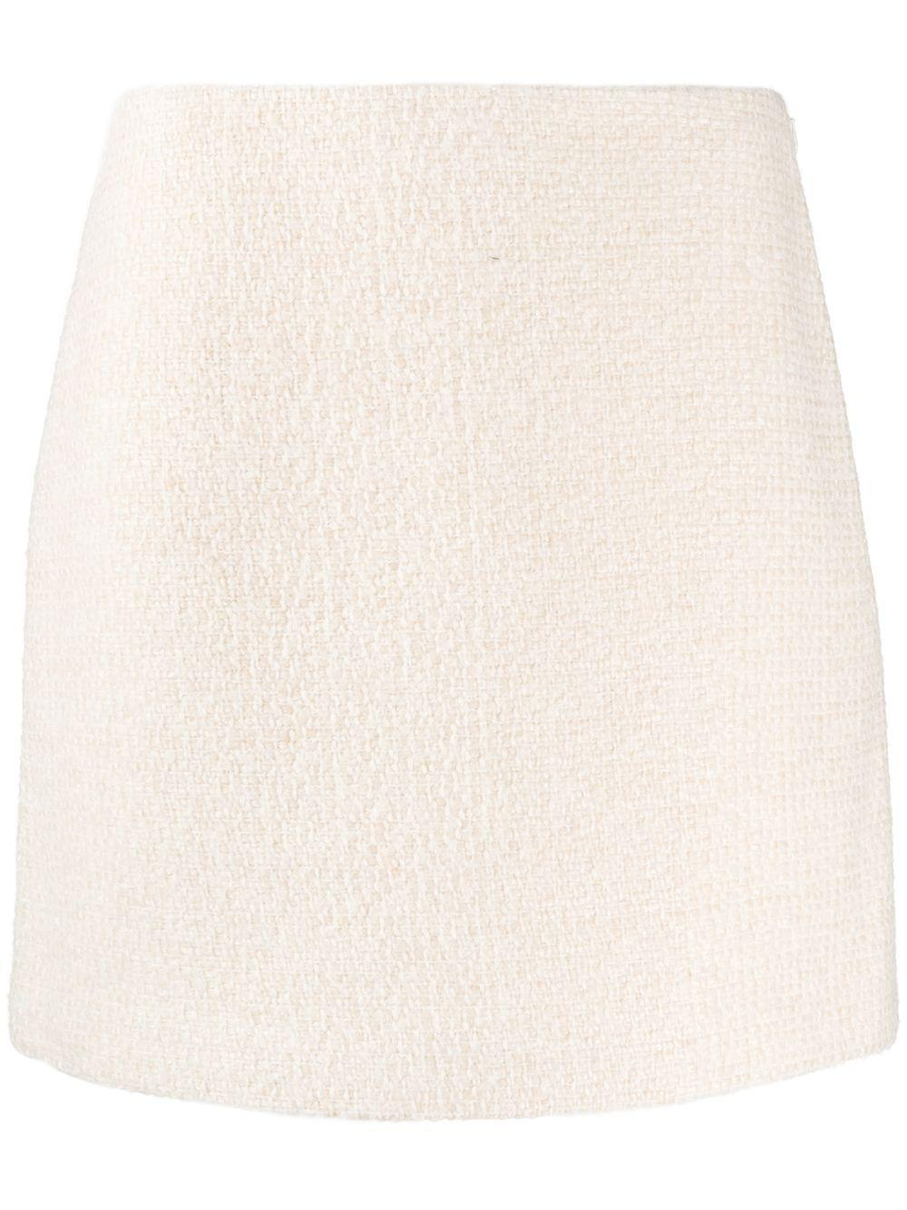 A Line Mini Bell Skirt