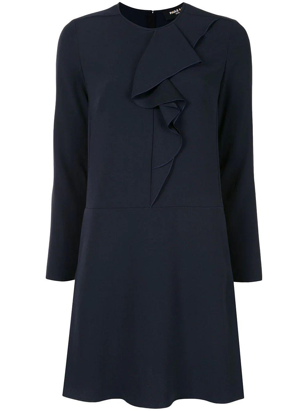 Ruffle Front Dress Item # 180/R100