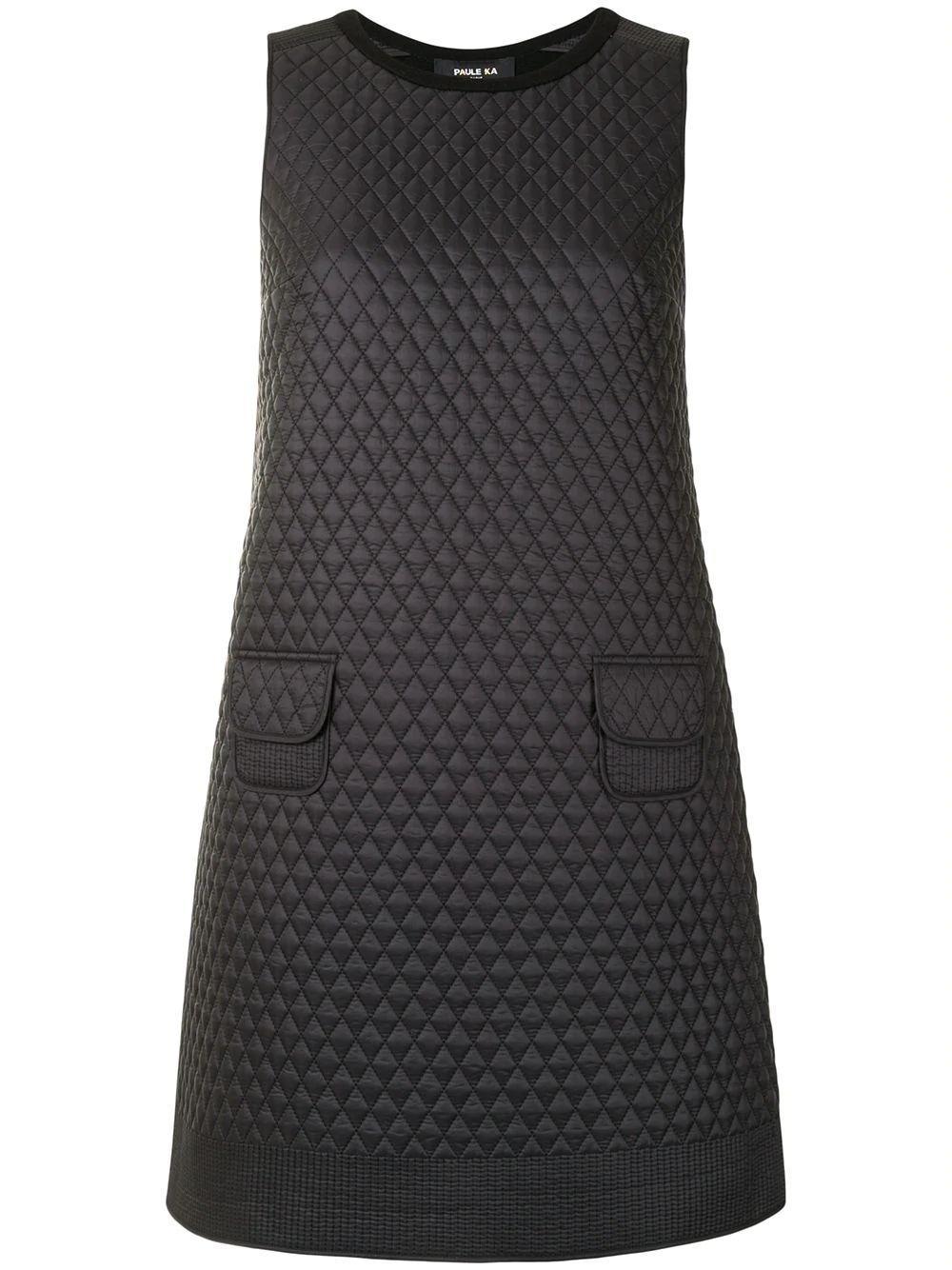 Quilted Mini Dress Item # 166/R062